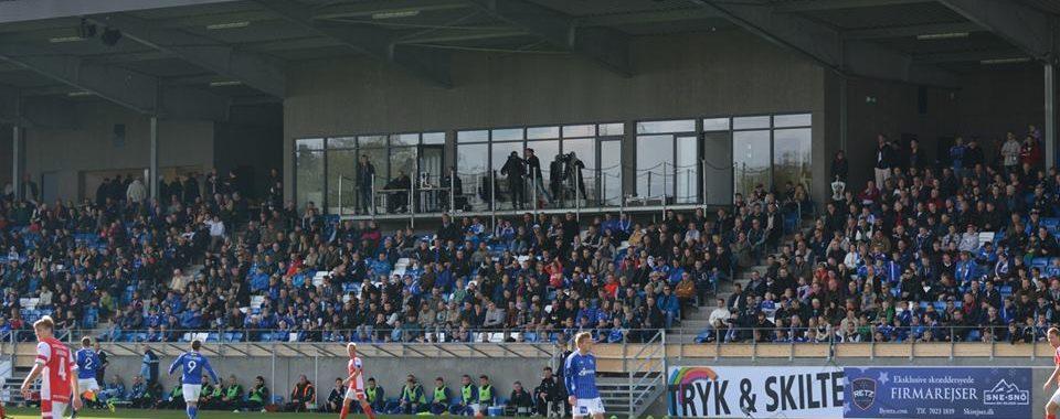 Lydanlæg på Lyngby Stadion fra NorthStar