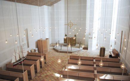 Lydløsning fra NorthStar i Egedal Kirke