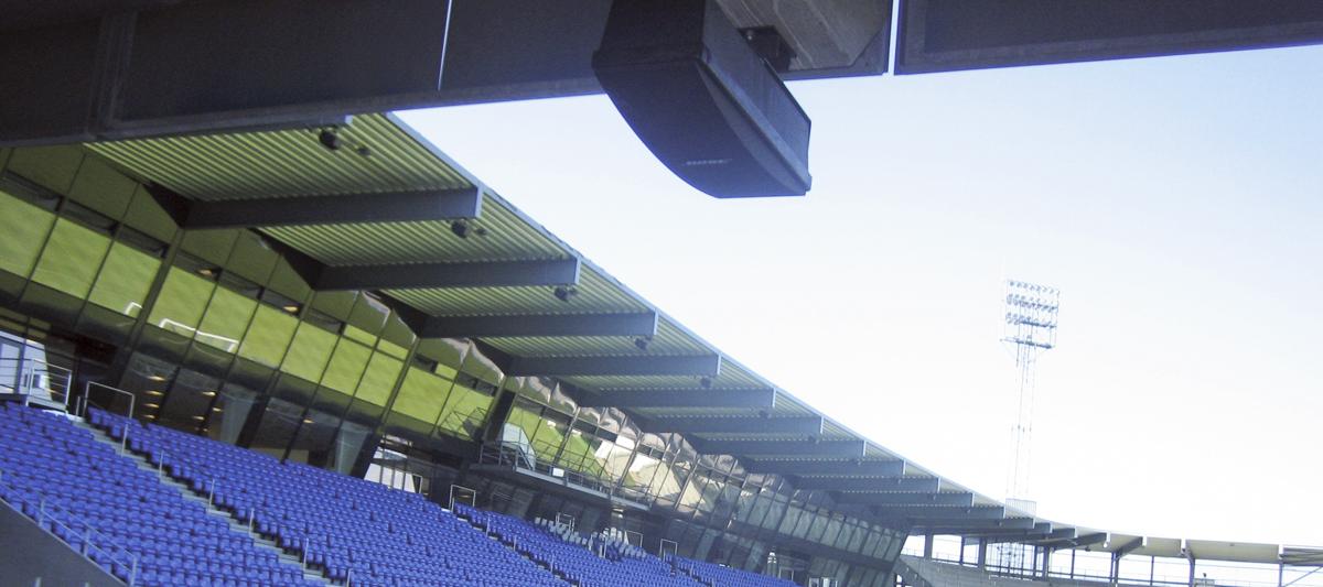 Stadions - AV-løsninger fra NorthStar