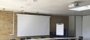 Mødelokaler - projektorløsning i sognegård fra NorthStar
