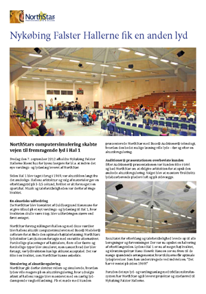 NorthStar lydløsning i Nyk. Fl. Hallerne