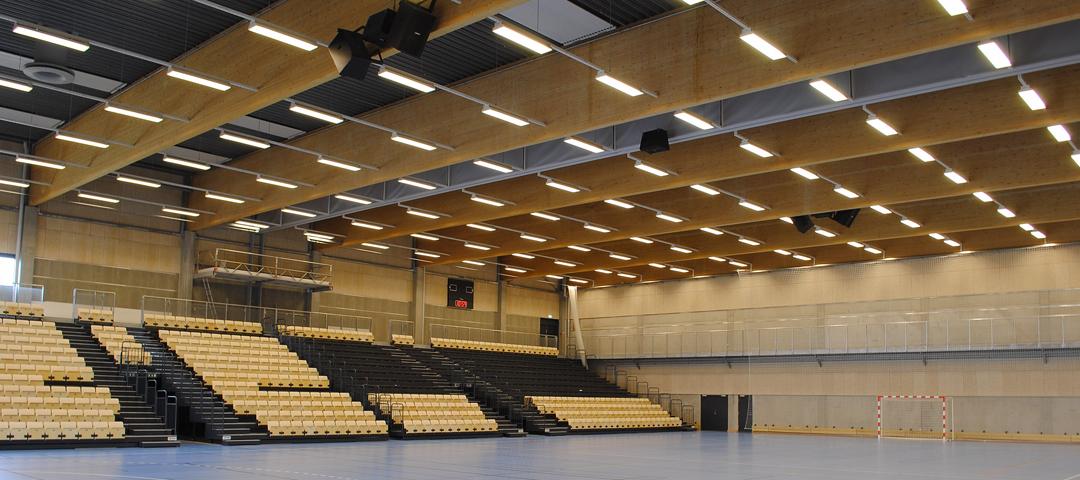 Lydanlæg i Arena Midt fra NorthStar