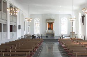 Lydanlæg i Sct. Michaelis Kirke fra NorthStar